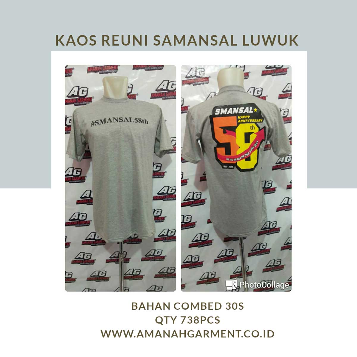 Supplier baju Makassar